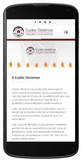 Site Responsivo Eudes Sistemas